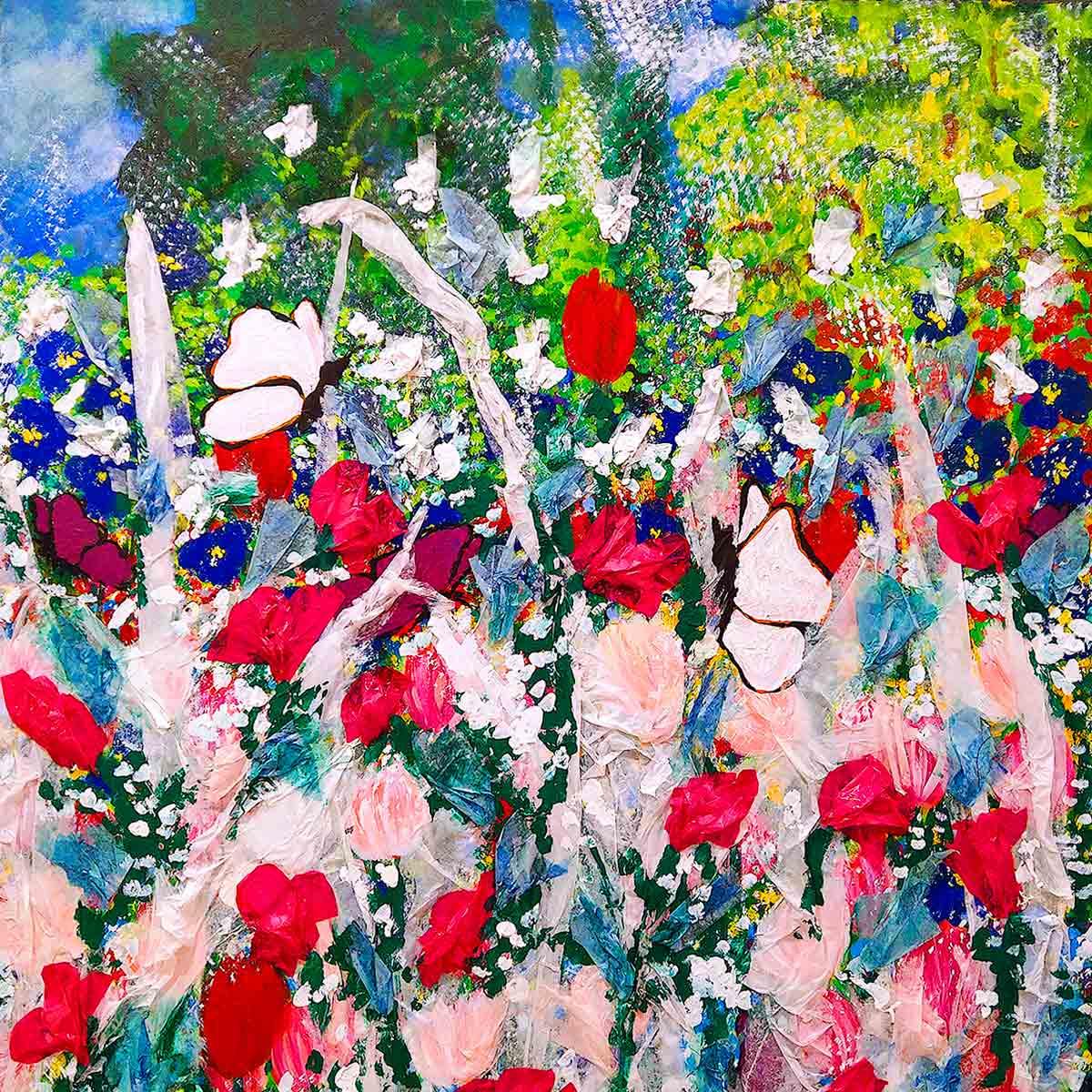 Cornelia Hagmann Artwork Painting Powder Spring