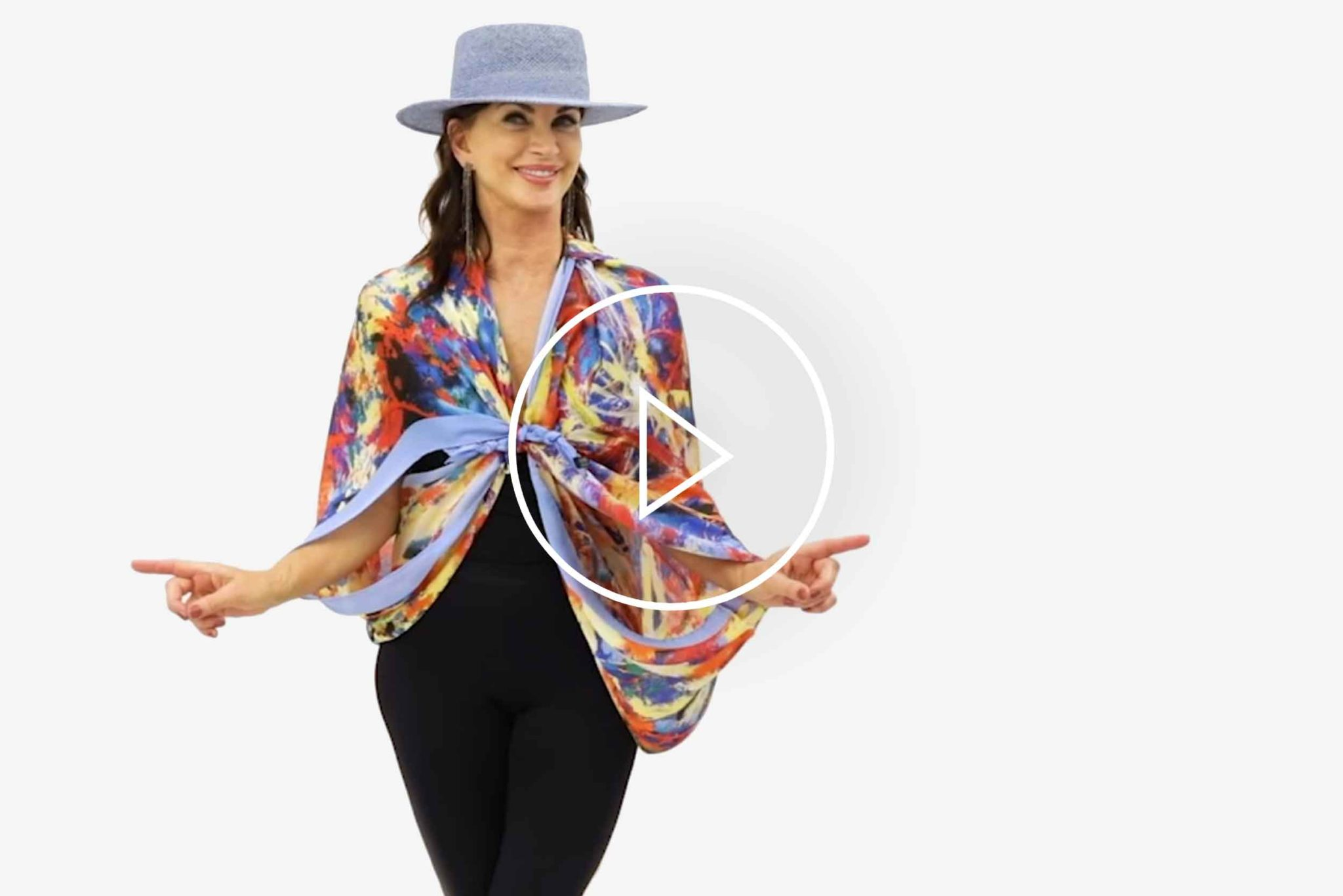 Cornelia Hagmann La Galleria Silk Scarves Styles Inspirations No 16 17 18, Seidenschal, sciarpa di seta, foulard soie,